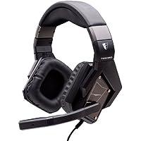 Headset Tesoro Kuven Virtual 7.1 Devil (Schwarz) [Importación Alemana]