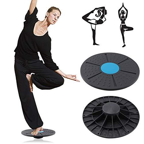 BALLSHOP Balanceboard Balance Wackelbrett aus Kunststoff Balancekissen Rutschfeste Design Kreisel Training 40cm