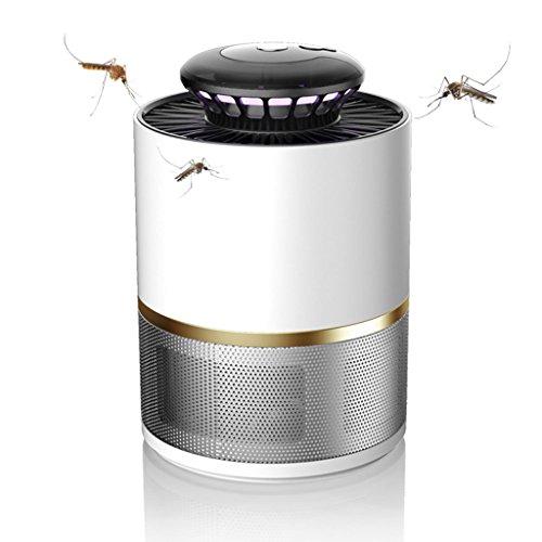 Mosquito Killer LINGZHIGAN Home Office Insect Killer Electronic LED luz Ultravioleta Bug Zapper Mosquito Lámpara Indoor, Control de iluminación Inteligente, ducto de Aire DC, fácil de Matar Mosquitos