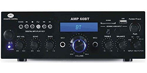Foto de ACOUSTIC CONTROL AMP60BT AMPLIFICADOR HI-FI USB/MP3/BT/FM/REC