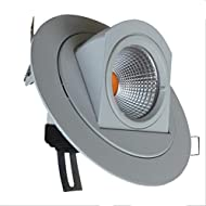Lh&Fh Lampe LED Cob Elephant Nose Intégré Plafonnier Downlight Lampe Tronc 10w Blanc Chaud (3000k) Lampe Murale