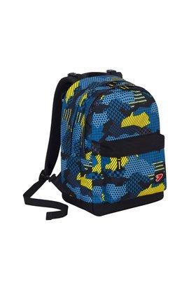 Zaino seven - the double pro xxl - blu - giallo - 30 lt schienale compatibile con cover e reversibile