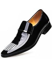 GTYMFH Leder Lackleder Business Anzüge Schuhe Herren England Hochzeitsschuhe e4cb169f41