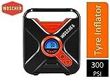 Woscher 802D Digital Car Tyre Inflator (Black)