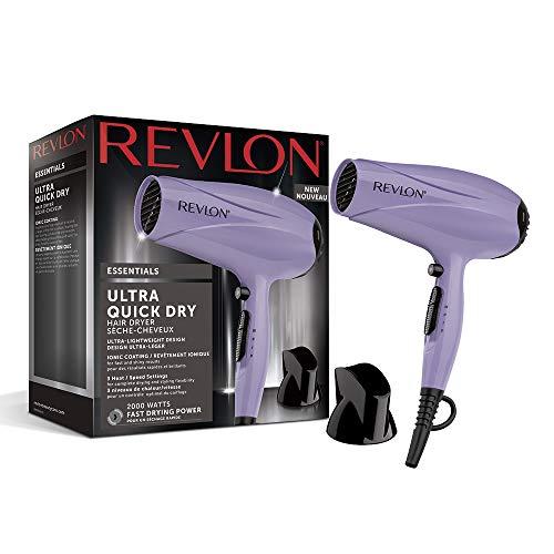 Revlon RVDR5261 Essential Ultra Quick Dry - Secador de Pelo, 2000 W