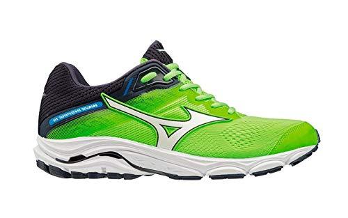 ce46463581291 Mizuno Men Wave Inspire 15 Stability Running Shoe Running Shoes Light Green  - Black 7