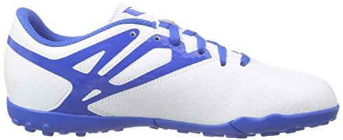 adidas Performance Jungen Messi15.4 TF Fußballschuhe Weiß (Ftwr White/Prime Blue S12/Core Black)