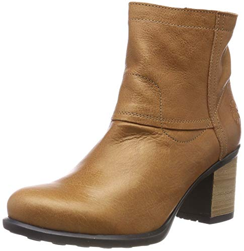 Damen Braun Stiefel Tan (Fly London Damen Ikan453fly Kurzschaft Stiefel, Braun (Tan 002), 39 EU)