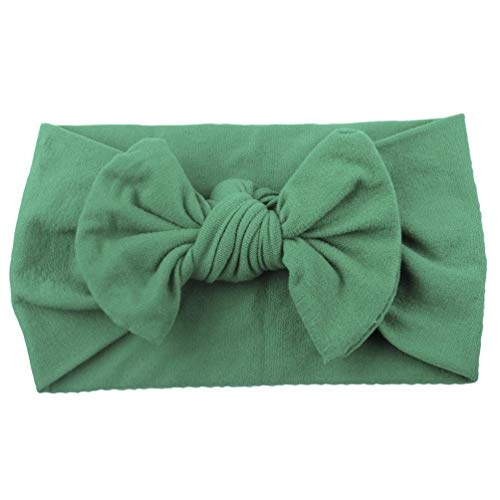 aby Kleinkind Turban Feste Stirnband Haarband Bow ZubehöR Headwear, Head Wrap Haarband Mit Knoten Boho Stirnband Verdreht ()