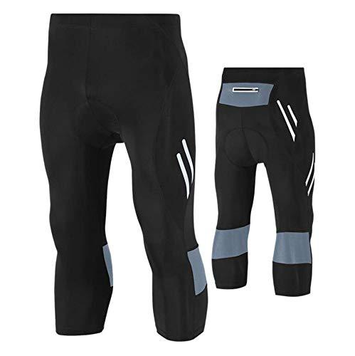 AQWWHY Pantalon de Cyclisme pour Homme Pantalons de Cyclisme rembourrés en 3D Legging rembourré