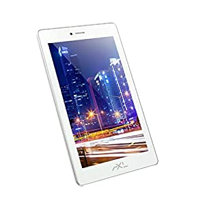 AXL 718GIA Tablet (7 inch, 8GB, Wi-Fi+3G+Voice Calling), White