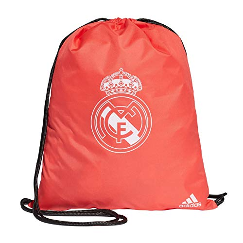 adidas Erwachsene Madrid 3 RD Sportbeutel, Real Coral/Vivid Red, One Size -