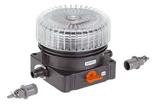 Gardena Distributeur d'engrais Micro-Drip-System Noir/Orange/Transparent 35 x 20 x 19 cm 08313-20