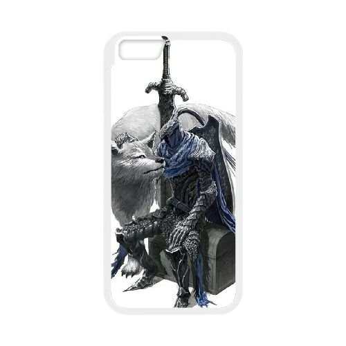 Dark Souls coque iPhone 6 4.7 Inch Housse Blanc téléphone portable couverture de cas coque EBDXJKNBO15523