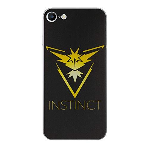 ne 6/6s Pokemon Go Silikonhülle/Team Instinct Gel Telefonabdeckung für Apple iPhone 6S 6/Displayschutzfolie und Tuch/iCHOOSE ()