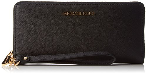Michael KorsJet Set Travel - Portafogli Donna, Colore Nero(Black 001), Taglia 21x10x2 cm (B x H x T)