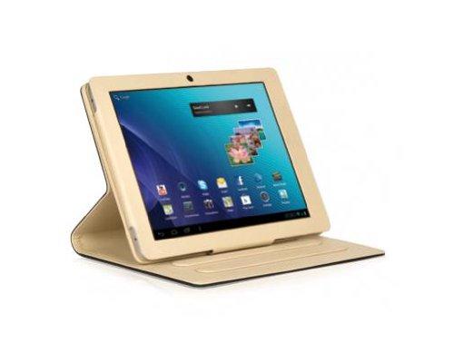 .7Cover schwarz, Creme Handy-Tablet ()