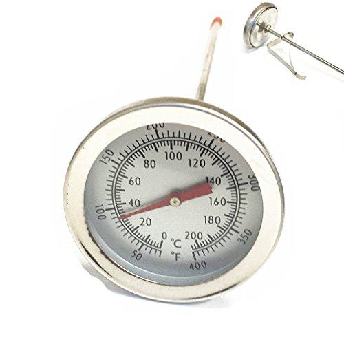 Qiorange Küchen Sonden Thermometer mit Celsius und Fahrenheit 0°C bis 200 °C / 50°F bis 400°F Temperaturbereich