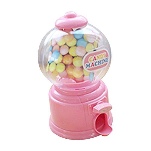 SunniMix Süßigkeitenspender Süßigkeitenautomat Mini Venind Machine Spielzeug Für Kinder - Rosa
