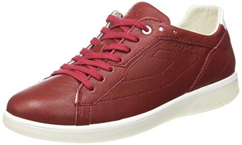 TBS Technisynthese Damen Oxygen Sneaker Rot - Rouge (Synagot)