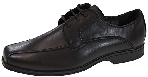 Strong Souls Boys Black Faux Leather