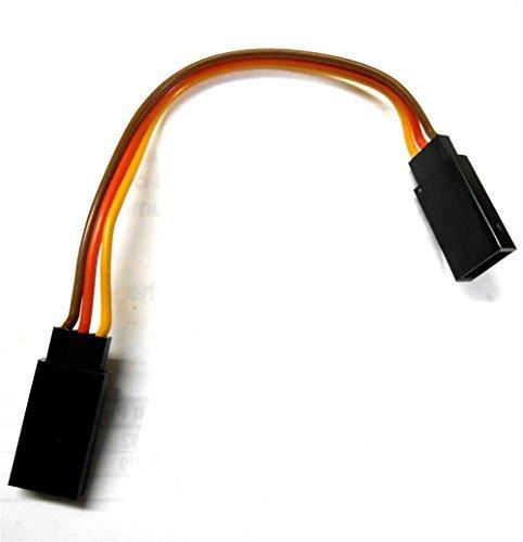 C2002C-2 10cm 22AWG 22 AWG RC JR Droit Câble D'Extension Femelle vers Femelle