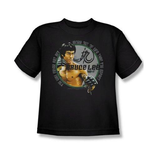 Bruce Lee - Erwartungen Jugend T-Shirt in schwarz Black
