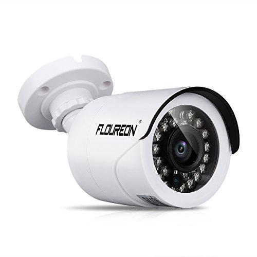 Galleria fotografica FLOUREON DVR Videocamere di Sorveglianza Impermeabile Esterno, 960P AHD 1.3MP 2000TVL, IR-CUT, 15m Visione Notturna, IP66