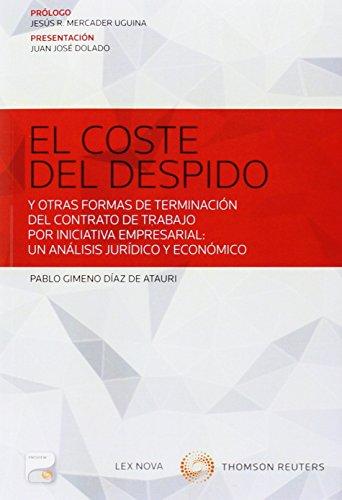 Coste del despido,El (Monografía)