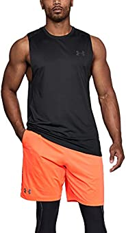 Under Armour Men's Mk-1 Sl Lightweight and Breathable Gym Clothes for Fitness and Sport, Comfortable Tank