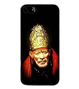 Fuson Designer Back Case Cover for Apple iPhone SE (Indian saint sabaka malik ek aao sai)