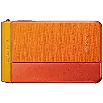 """Sony DSC-TX30 - Cámara compacta de 18.2 Mp (pantalla táctil de 3.3"""", zoom óptico 5x, 26-130mm), color naranja"""