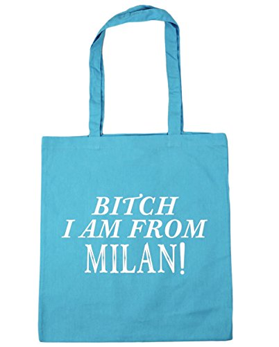 hippowarehouse-bitch-i-am-de-milan-sac-a-shopping-sac-de-plage-42-cm-x38-cm-10-litres-turquoise-tail