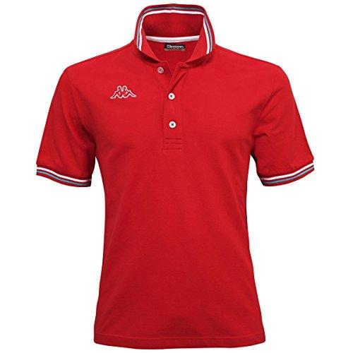 """Kappa Herren Poloshirt """"Maltax 5"""" Rot"""