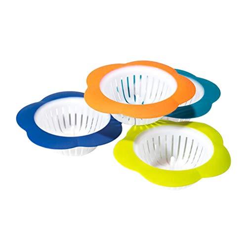 bestonzon Kunststoff Küche Spüle Sieb Badezimmer Abfluss Haar Catcher abflussschutz (zufällige) -