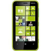 "Nokia Lumia 620 - Smartphone libre (pantalla táctil de 3,8"" 480 x 800, cámara 5 Mp, 8 GB de capacidad, 2 procesadores de 1 GHz, 512 MB de RAM, S.O. Windows Phone 8) color verde [importado de Alemania]"