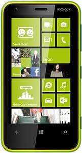 Nokia Lumia 620 Smartphone (9,7 cm (3,8 Zoll) Touchscreen, Snapdragon S4, Dual-Core, 1GHz, 512MB RAM, 5 Megapixel Kamera, Win 8, micro SIM) glänzend-grün
