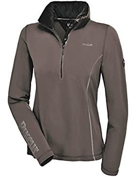 Pikeur Rosalia Premium 1/4zip top–Dark Shadow