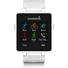 Garmin vívoactive - Smartwatch con GPS, color blanco