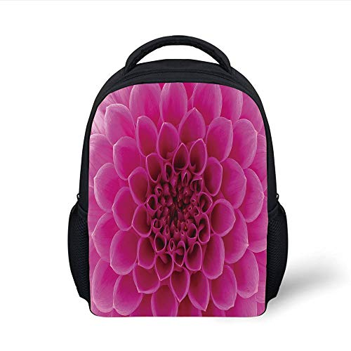 Modern,Pineapple Figures Pattern Exotic Fruit in Digital Watercolor Illustration,Night Blue Turquoise Plain Bookbag Travel Daypack ()