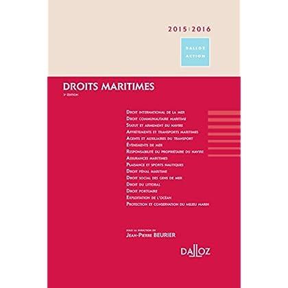 Droits maritimes 2015/2016 - 3e éd.