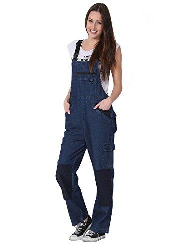 Rosies - Salopette Femme - Denim léger Salopette de Travail pour Femme Combinais ROSIES11 Rosies Workwear