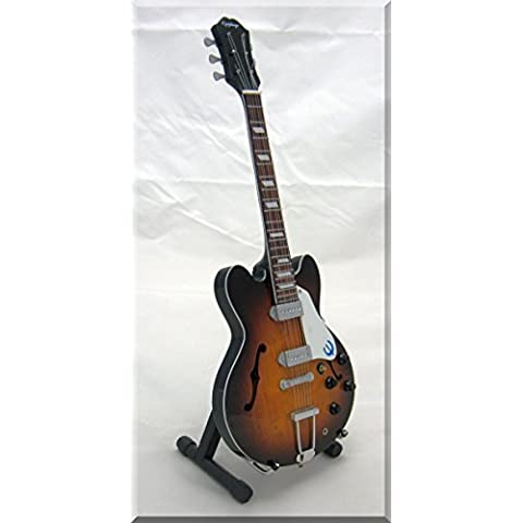 JOHN LEE HOOKER Miniatura Guitarra SUNBURST