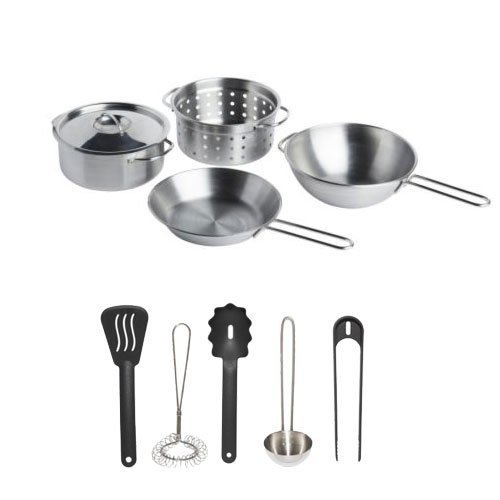 Ikea Duktig Childrens Pretend Play Cooking Kit