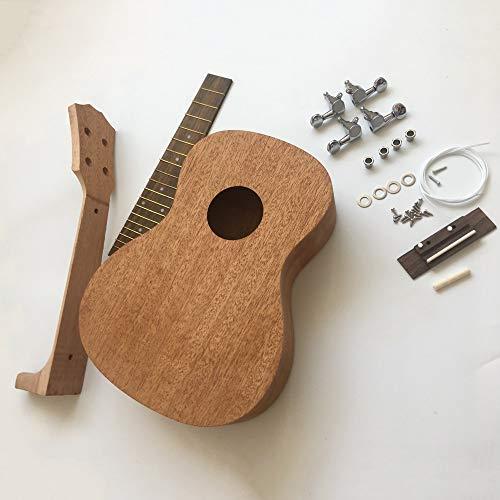 Ukulele handgemachte zusammengebaute Nanyang Holz Pfirsich Core Uklele hausgemachte kreative Gitarre ()