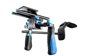 eimo DSLR Rig épaule de montage banc stabilisateur pour appareils photo reflex et caméscopes