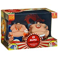 Amazing Trends Radio Controlled Sumo Wrestlers Featuring Built-in Sound Effects.