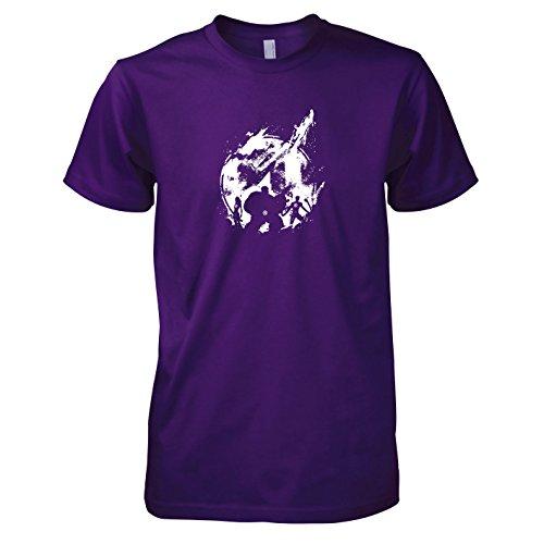 TEXLAB - Fantastic Splash - Herren T-Shirt, Größe XXL, (Fantastischen Vier Comic Kostüme)