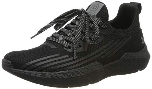 bugatti Herren 341730606900 Slip On Sneaker, Schwarz, 43 EU