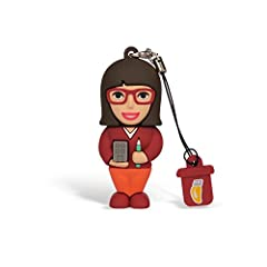 Idea Regalo - Professional Usb Architetto Donna, Simpatiche Chiavette USB Flash Drive 2.0 Memory Stick Archiviazione Dati, Portachiavi, Pendrive 8 GB